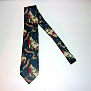 JoS.A.Bank Merry Christmas silk necktie